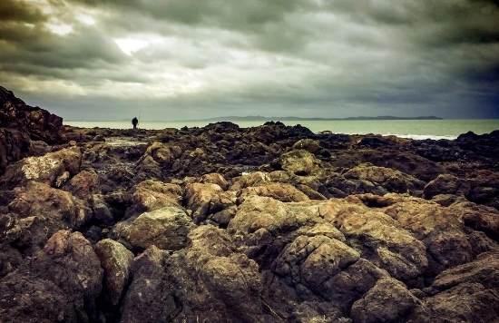 Fishing at Cable Bay